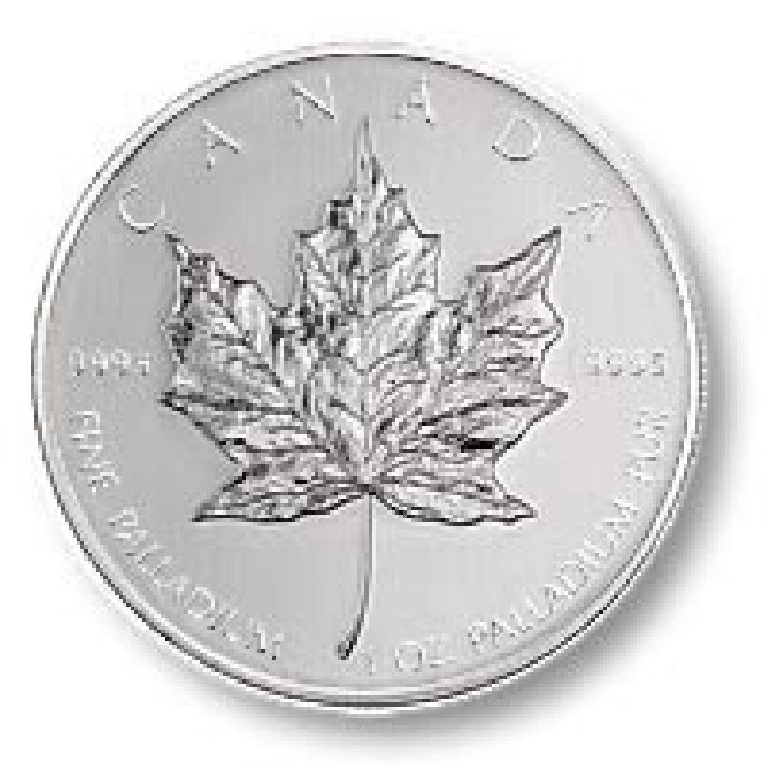 Palladium Maple Leaf One Ounce (Dates of our Choice)