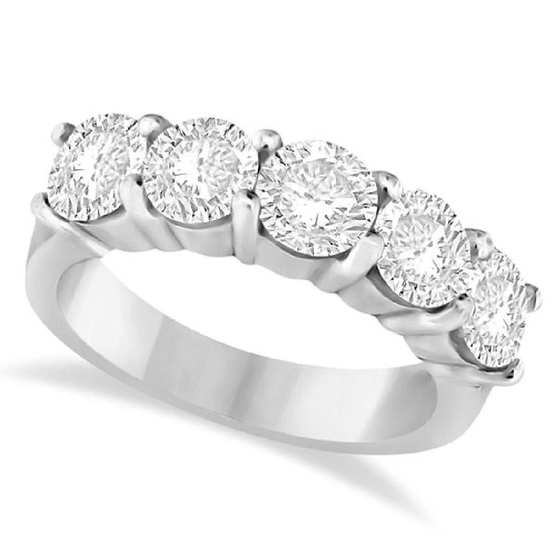 3.00 CTW  Diamond Ring Anniversary Band 14k White Gold