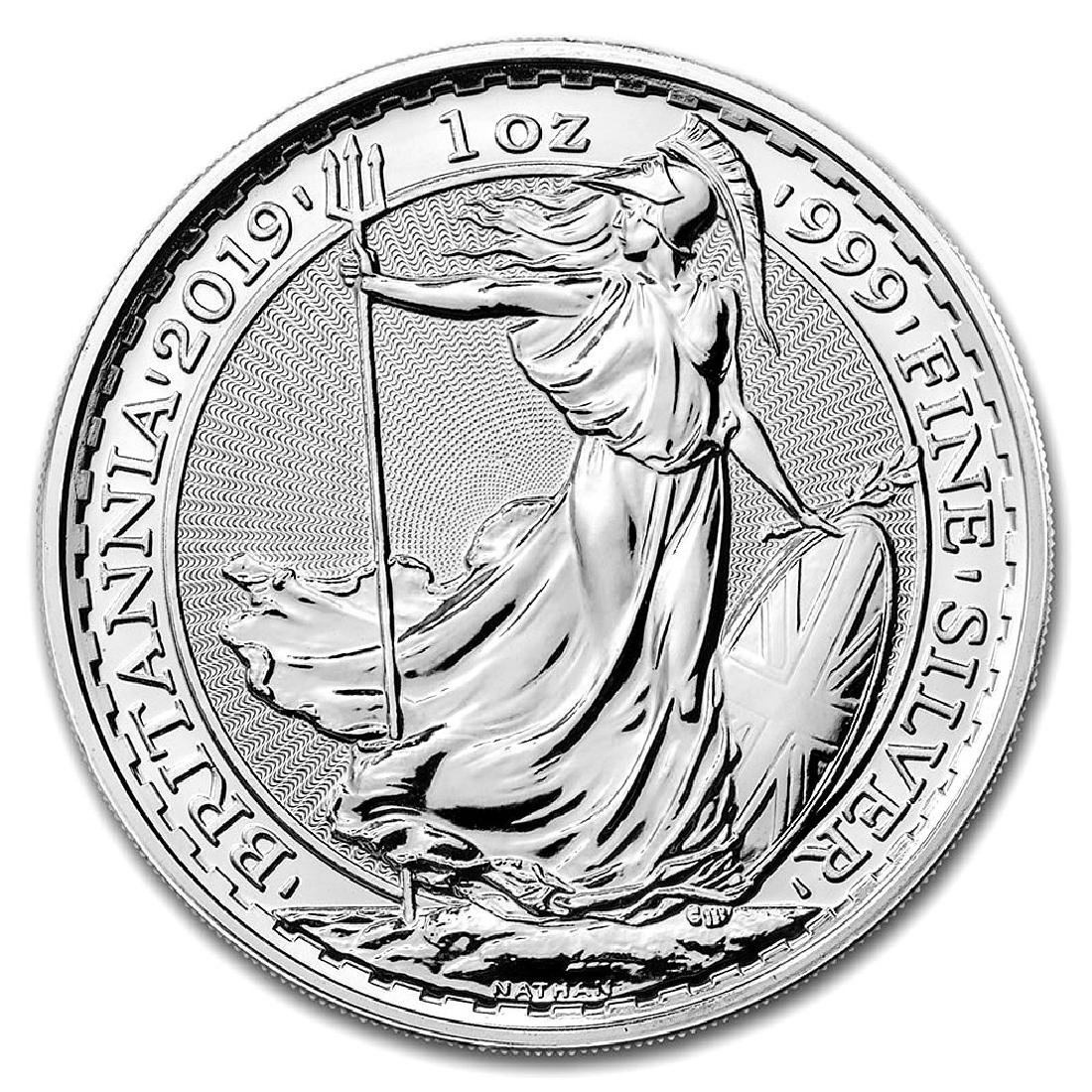 Uncirculated Silver Britannia 1 oz 2019