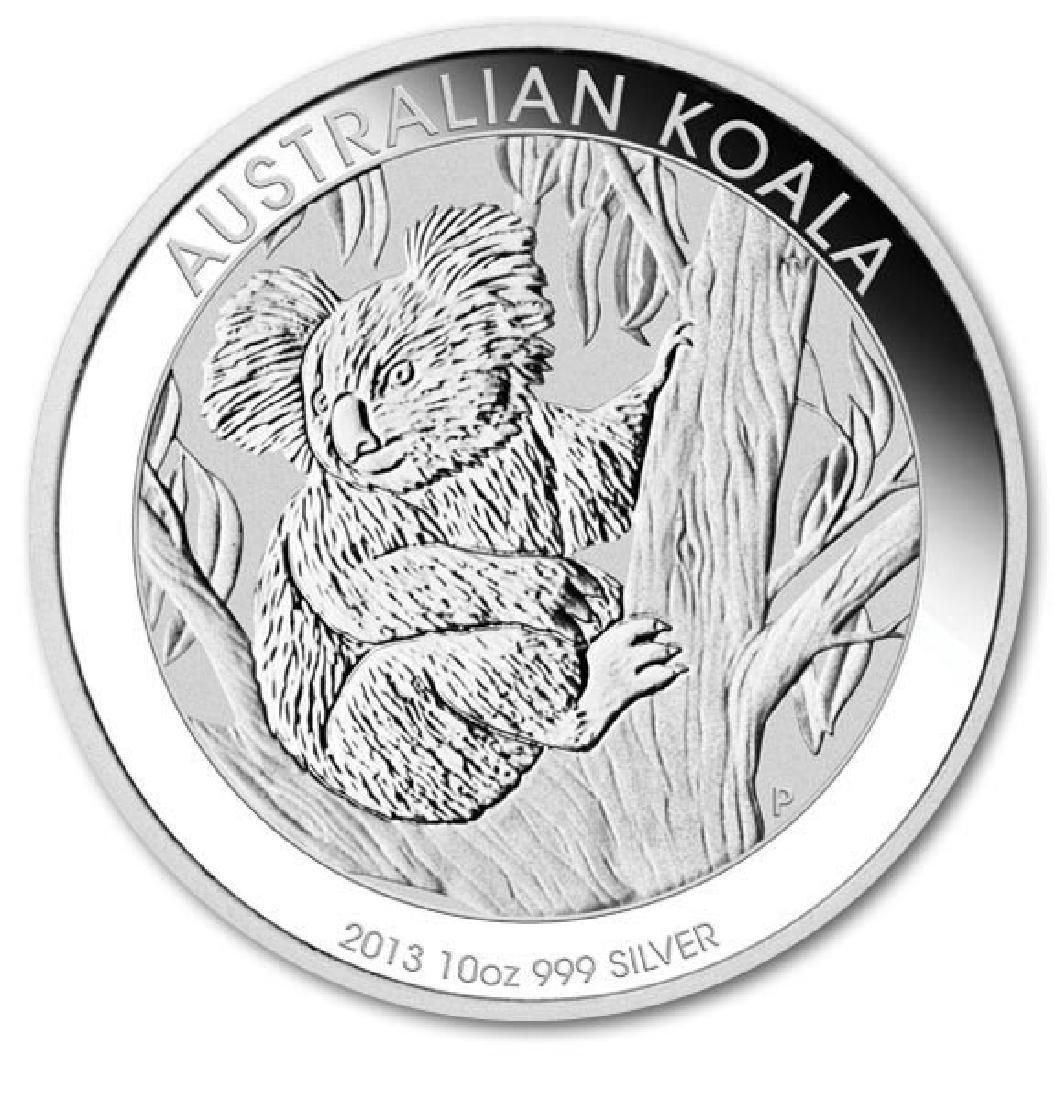 Australian Koala Ten Ounce Silver 2013