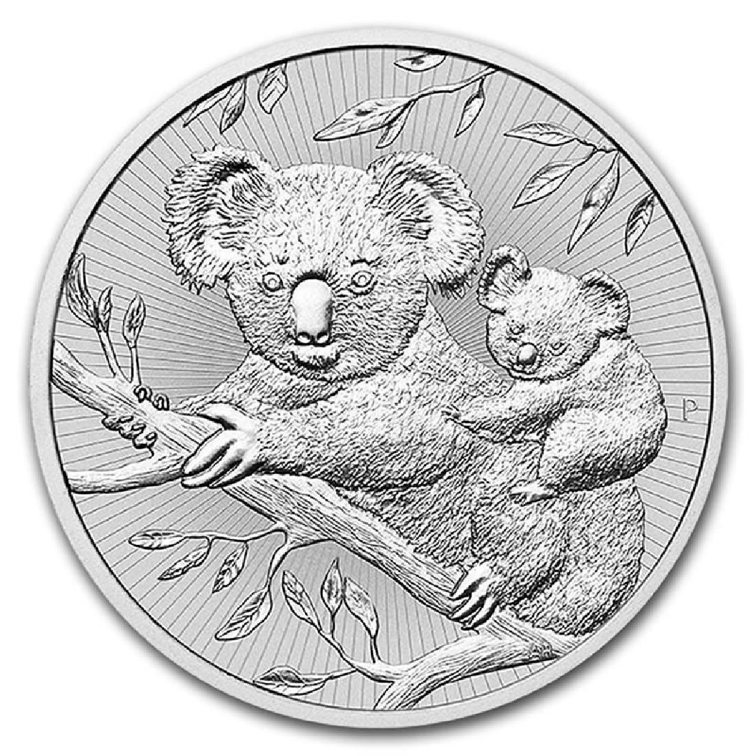 Australian Koala 2 Ounce Silver 2018