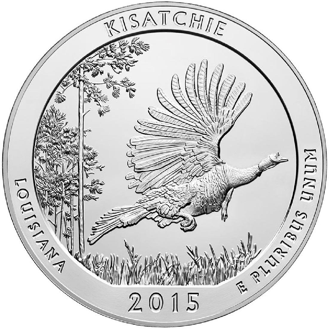 2015 Silver 5oz. Kisatchie National Forest ATB