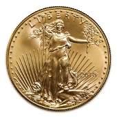 2018 American Gold Eagle 110 oz Uncirculated