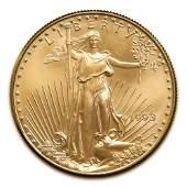 1993 American Gold Eagle 14 oz Uncirculated
