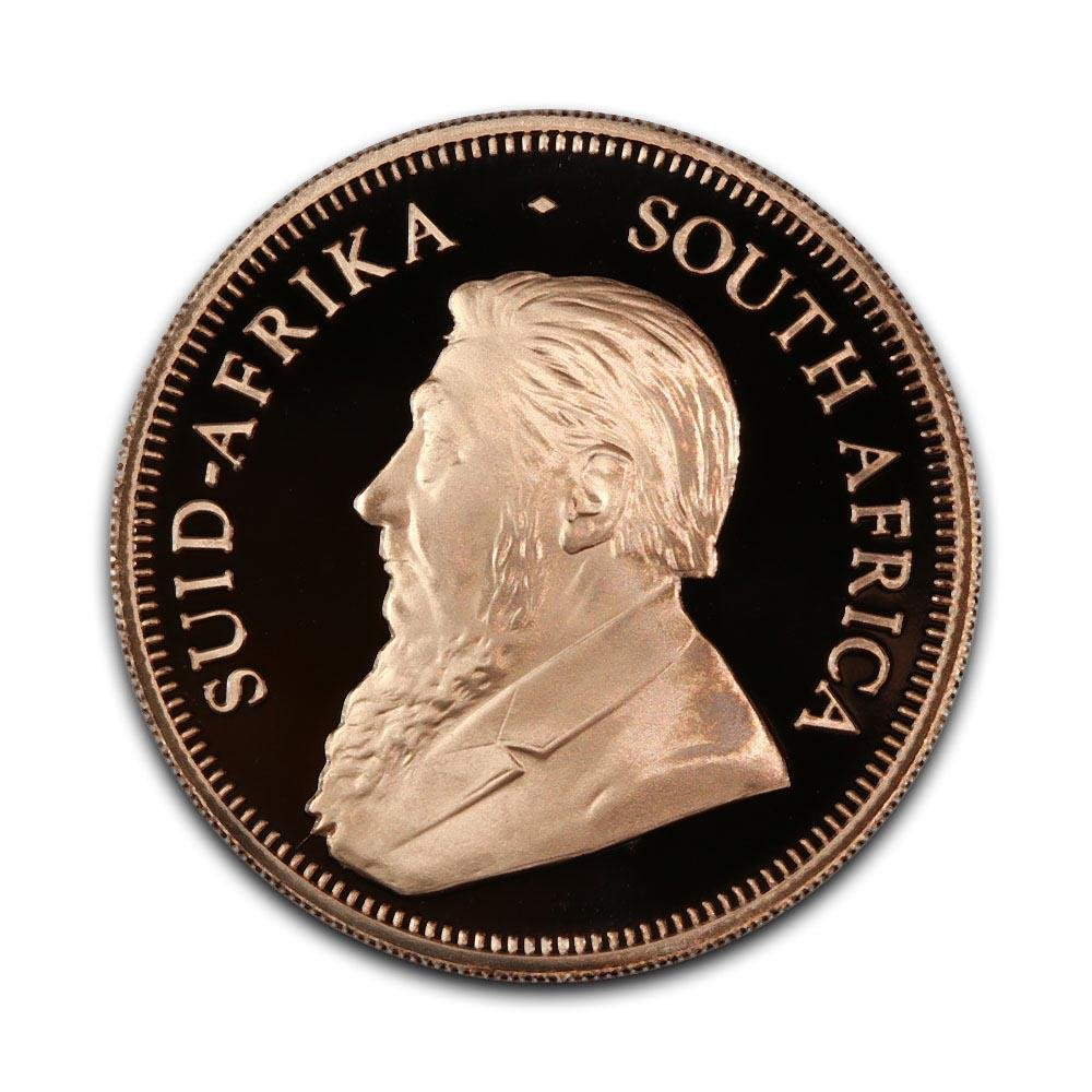 South Africa One Ounce Gold Proof Krugerrand 2008