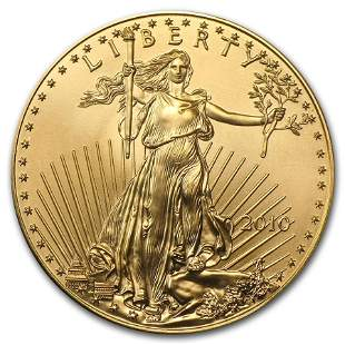 2010 1 oz American Gold Eagle BU