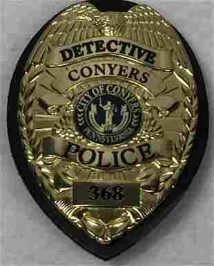 Prisoners 2013 Metal Police Badge