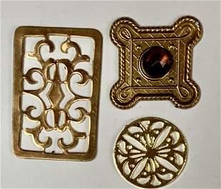 The Hobbit Trilogy Three Treasure Ornaments