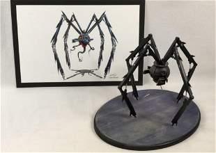 Safecracker Robot Maquette and Artwork made for a Film