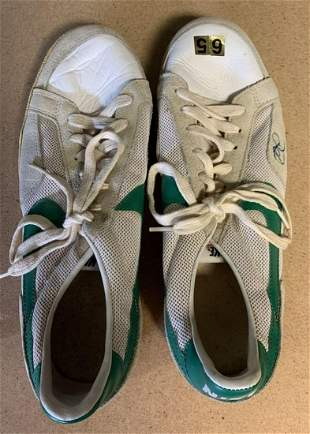 Bill Cosby Pair of Signed Nike Sneakers