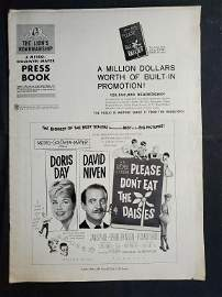 """MGM Pressbook """"PLEASE DON'T EAT THE DAISIES"""" No cut"""