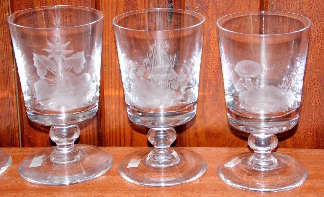 Rare Set of 6 Caithness British Wildlife  Crystal - 3