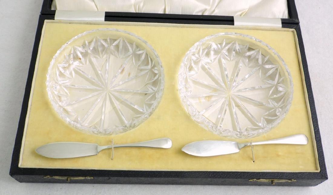 KG V1 Sterling Silver Butter Set