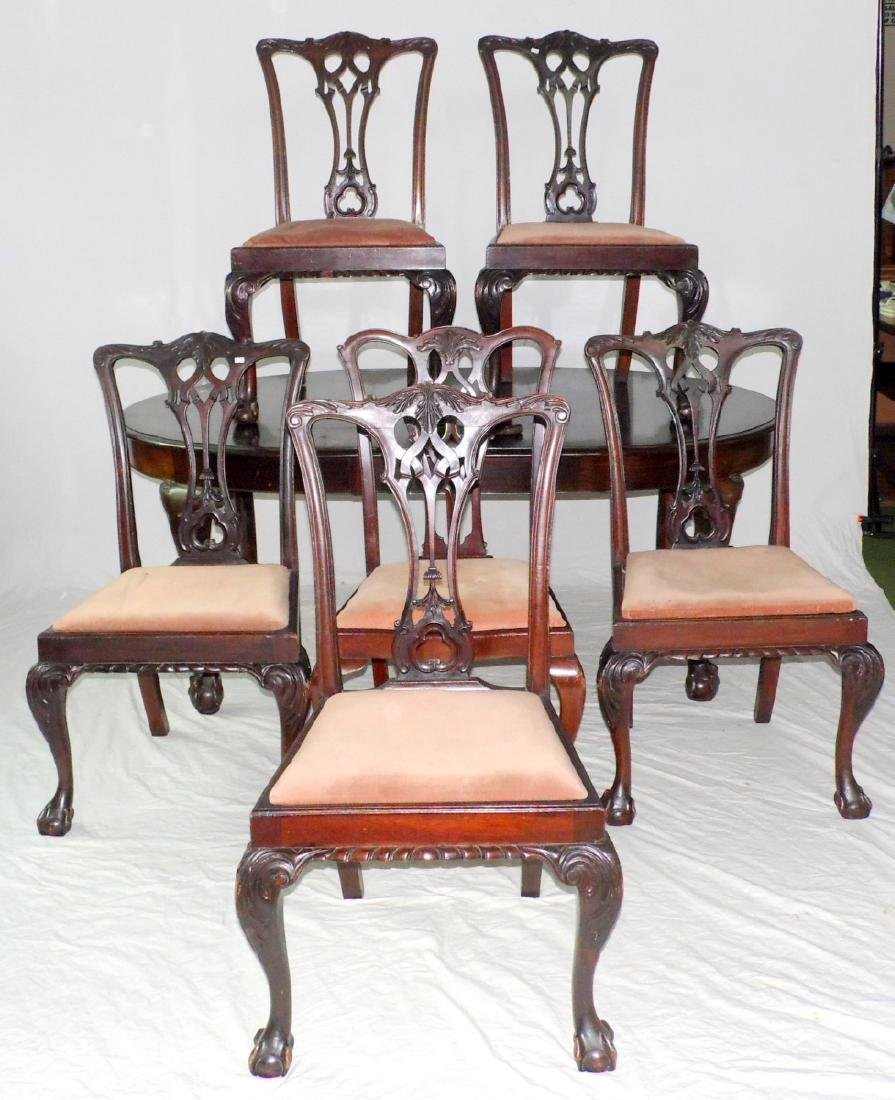 Edwardian Mahogany Dining Room Suite