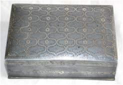 Rare Indian Interest Antique Islamic Persian Box
