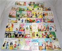72 Bamforth Comic Series Vintage Postcards Unused