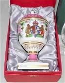Scarce Spode Queen Mother Vase