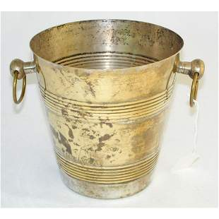 Vintage Silver Plate Ice Bucket.
