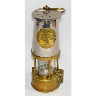 Original Eccles Protector Miners Lamp