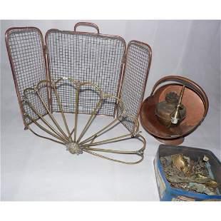 Antique Job Lot of Metalwares.