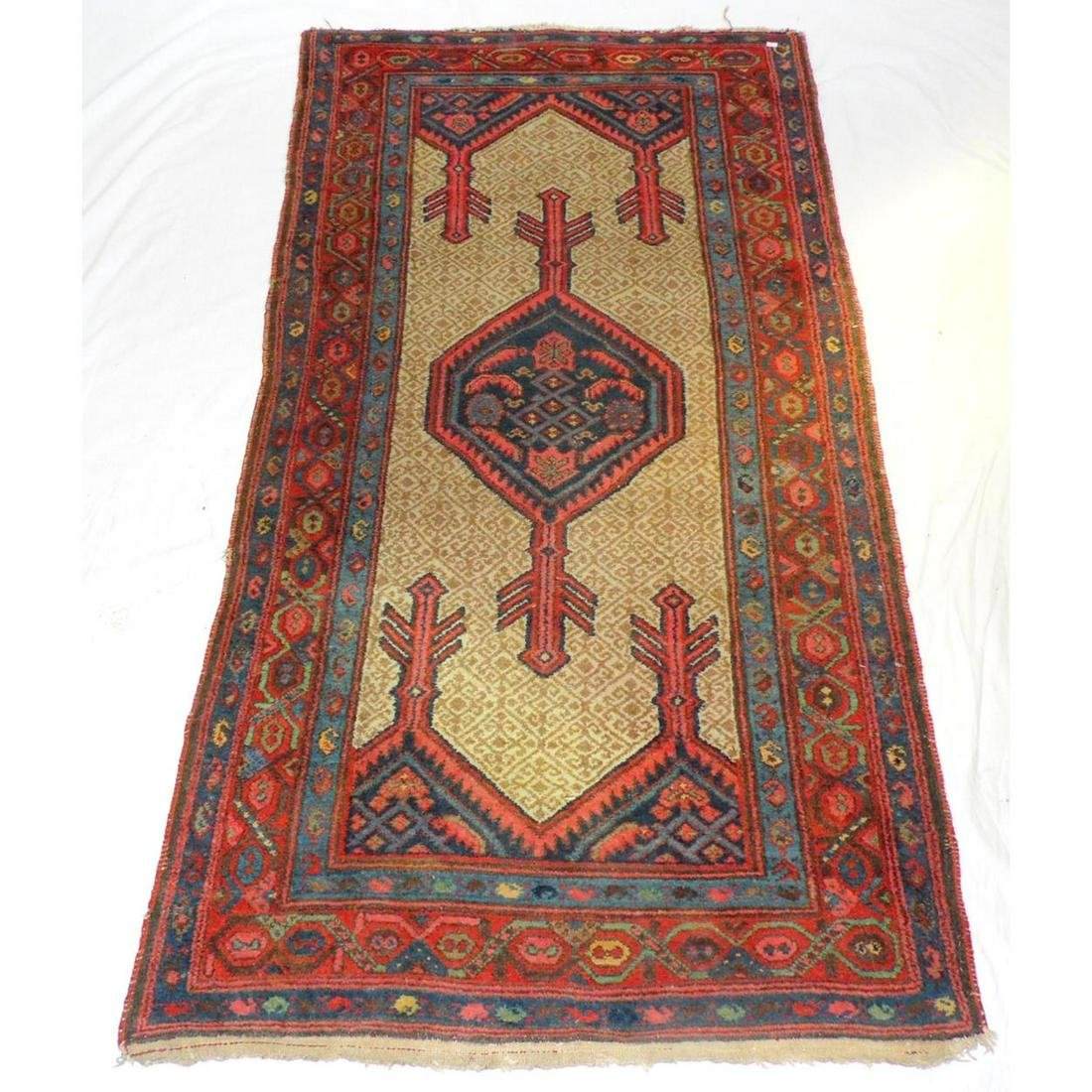 Antique Persian Hand Woven Carpet