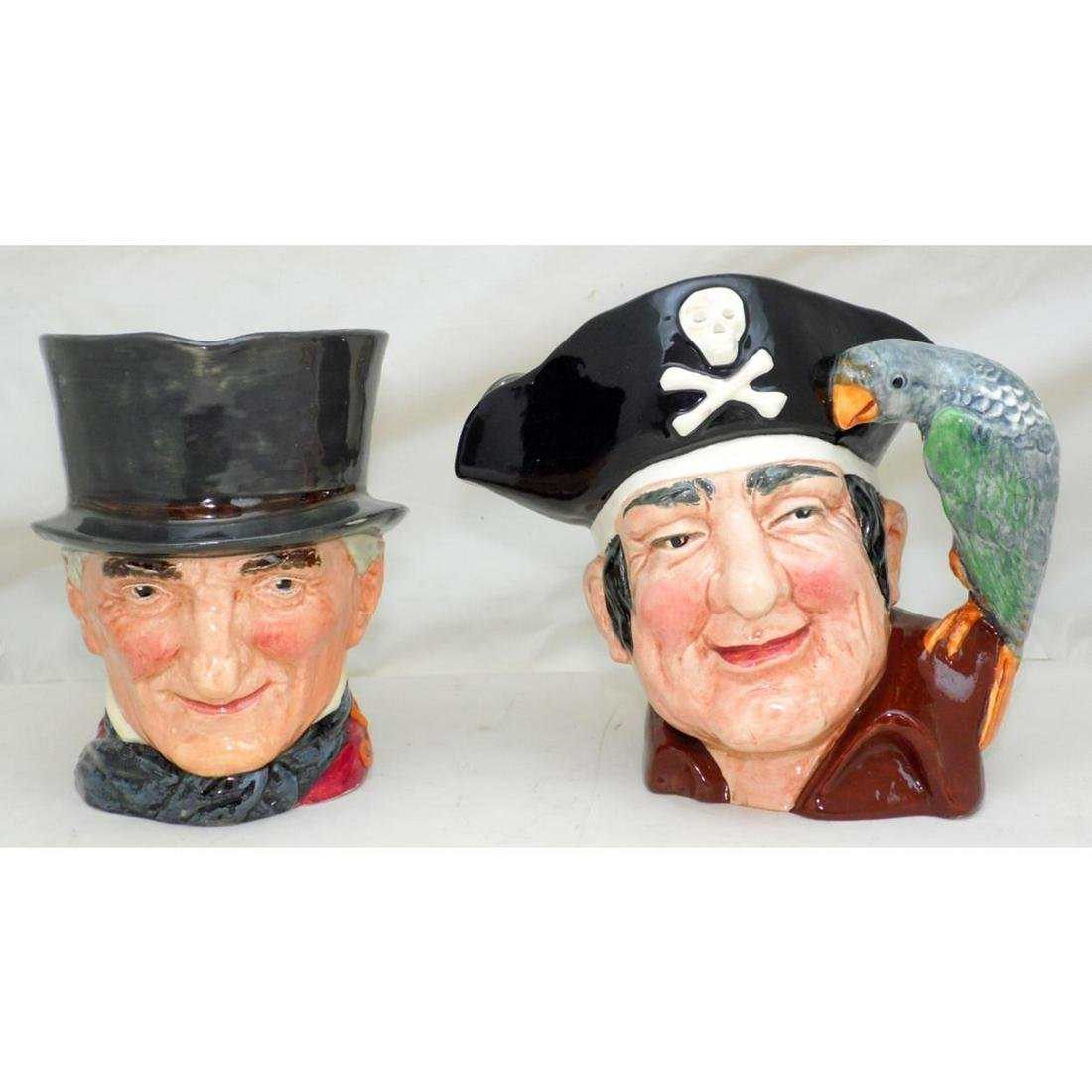 Royal Doulton Large Character Jugs