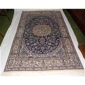 Antique Large Persian Wool Carpet