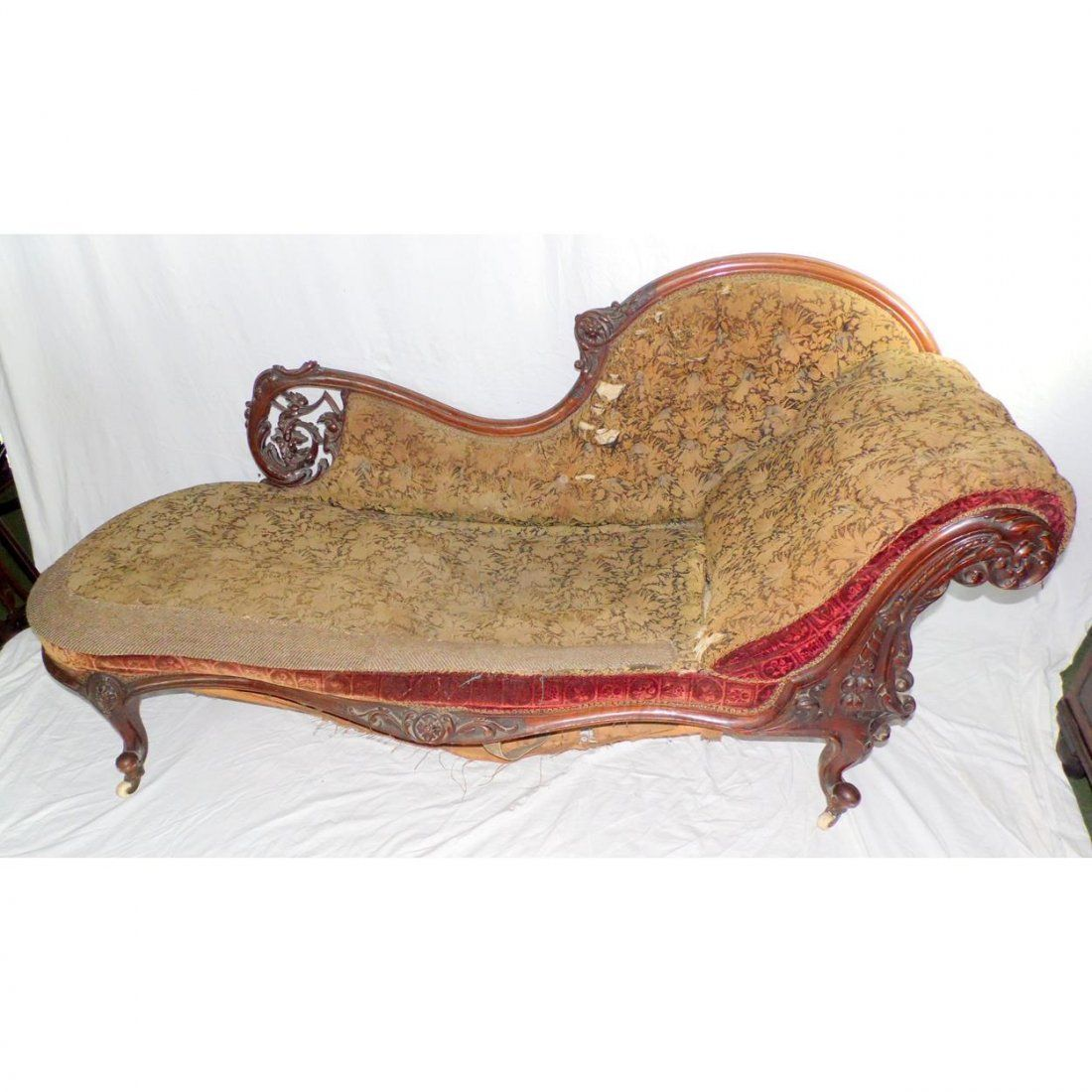 Antique English Victorian Chaise Longue Feb 22 2020 Cooper Barrington Llp In United Kingdom