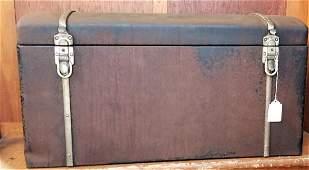 Original Packard Steel Trunk