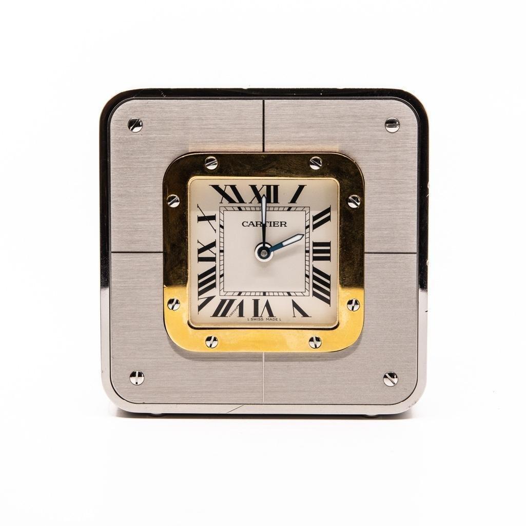 """Cartier """"Santos"""" Alarm Clock"""