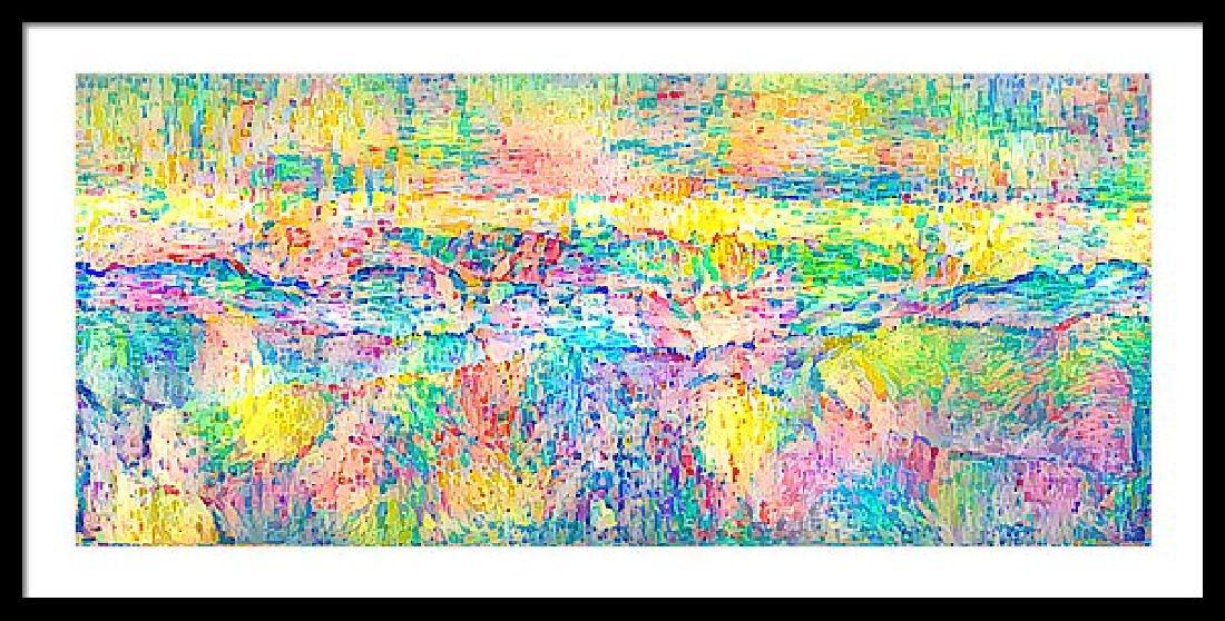 Pointillism Landscape