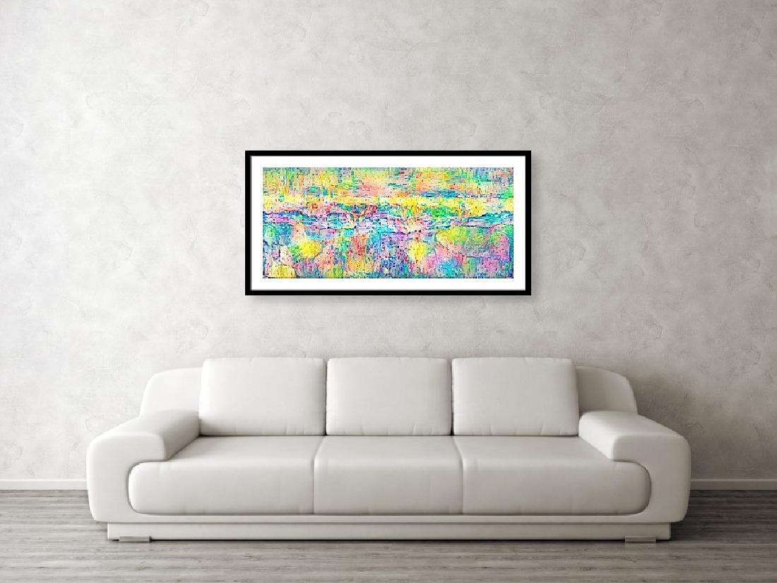 Pointillism Landscape - 3