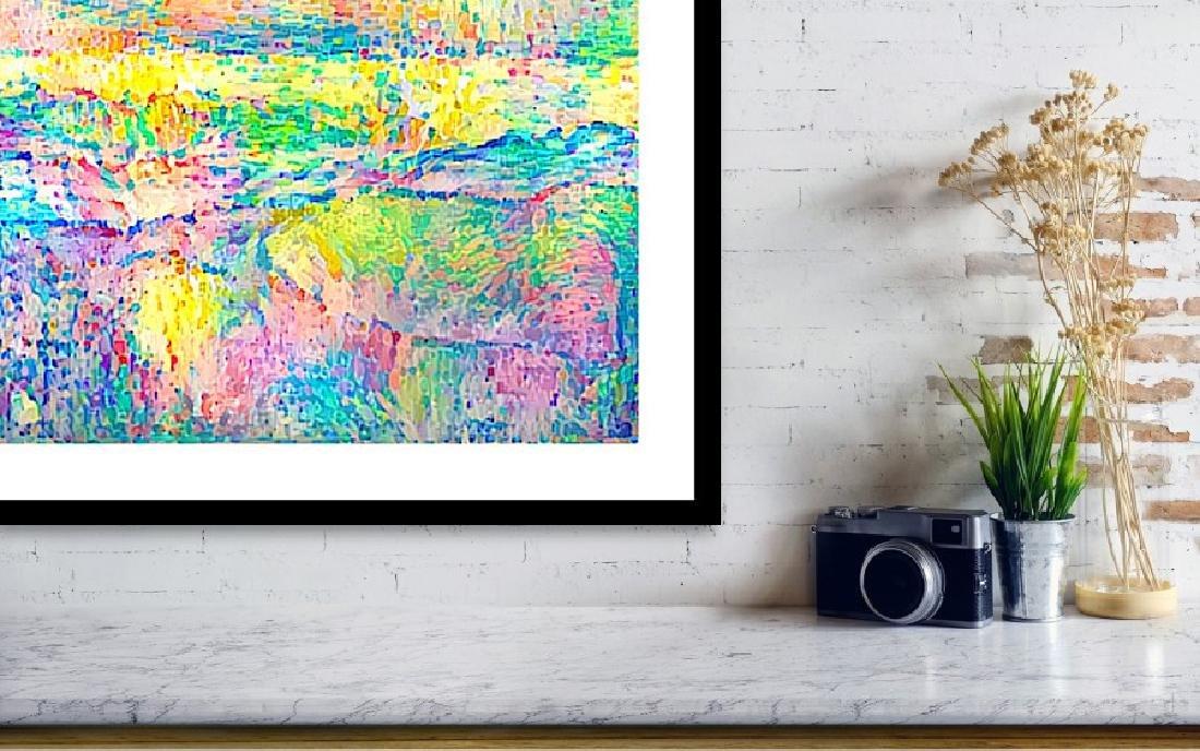Pointillism Landscape - 4