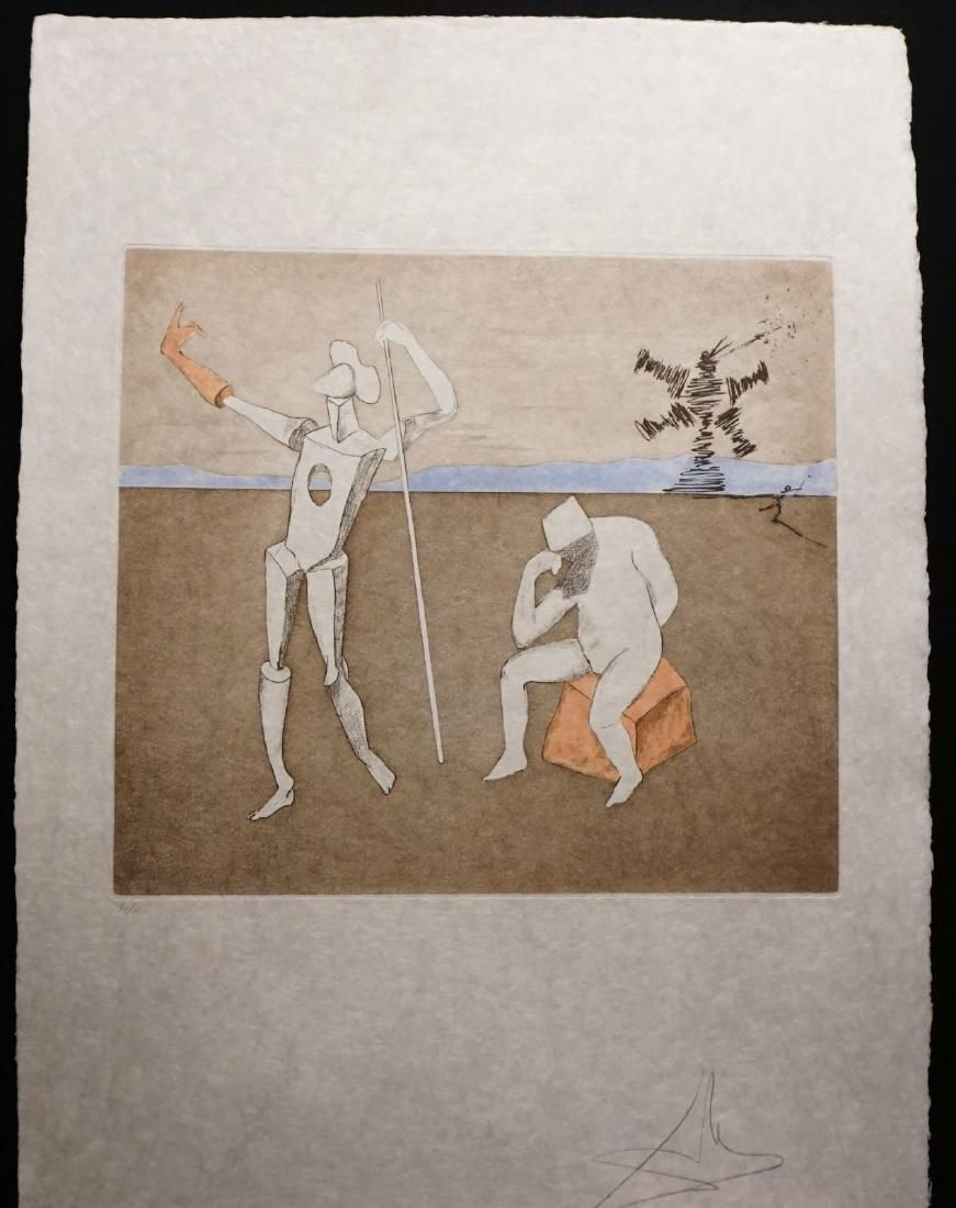 Dali Historia Don Quichotte The Power of Thought Hand