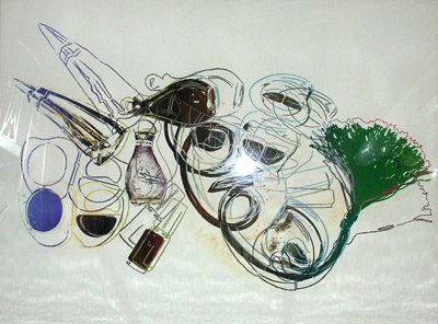 595: Andy Warhol Fragrances And Cosmetics Screenprint