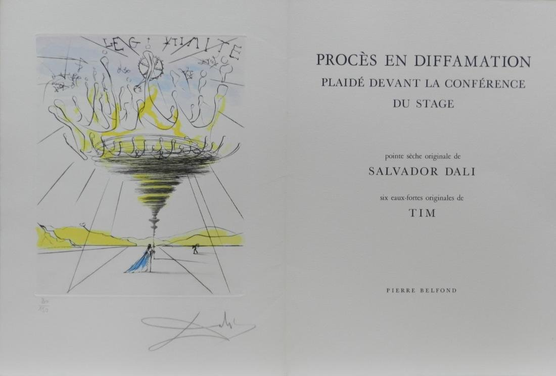 Dali Legitimite Hand Signed Numbered Dali Archives