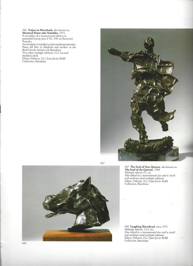 Dali Trajan Horse Sculpture - 3