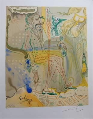 Dali The Marquis de Sade The Twins Outwit Damis Hand