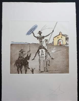 Dali Historia de Don Quichotte de la Mancha The