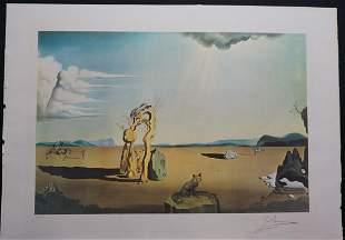 Dali Les Betes Sauvages Dans le Desert Hand Signed