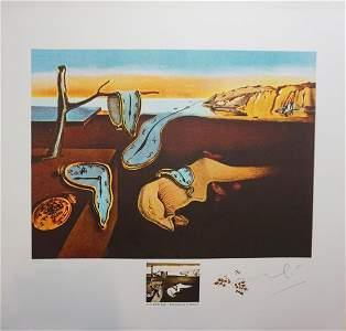 Dali Changes in Great Masterpieces Persistence de la