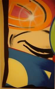 """CRASH John Matos Original Acrylic on Canvas """"Part 2"""""""