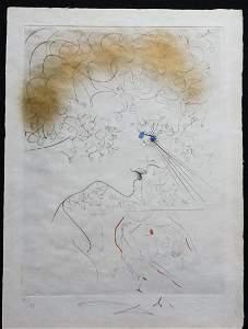 Dali La Venus Aux Fourrures The Head Hand Signed