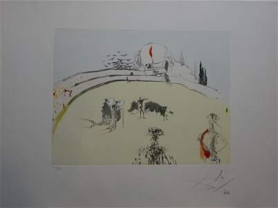 Dali Tauramachi Surrealiste Bullfight with Drawer Hand