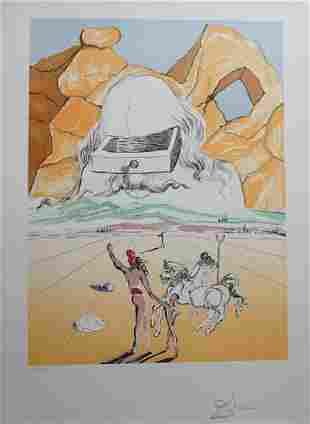 Dali Retrospective The Path to Wisdom Hand Signed