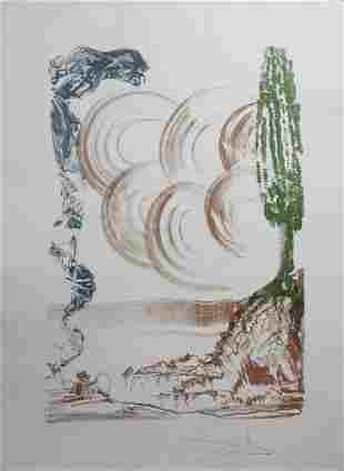 Dali Colibri Atomo Hand Signed Lithograph