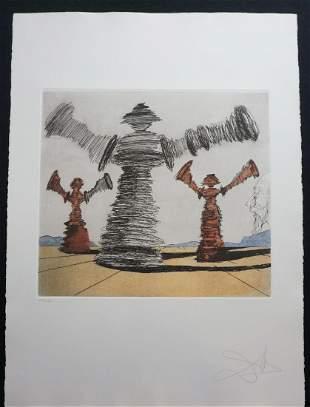 Dali Historia de Don Quichotte de la Mancha Spinning