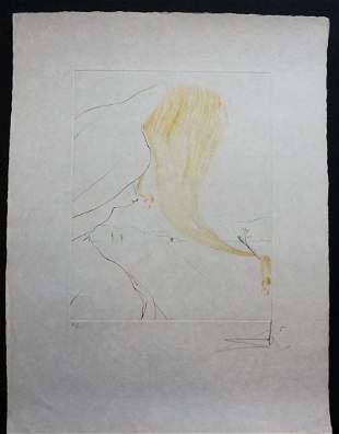 Dali Arnella The Golden Fleece Hand Signed Etching