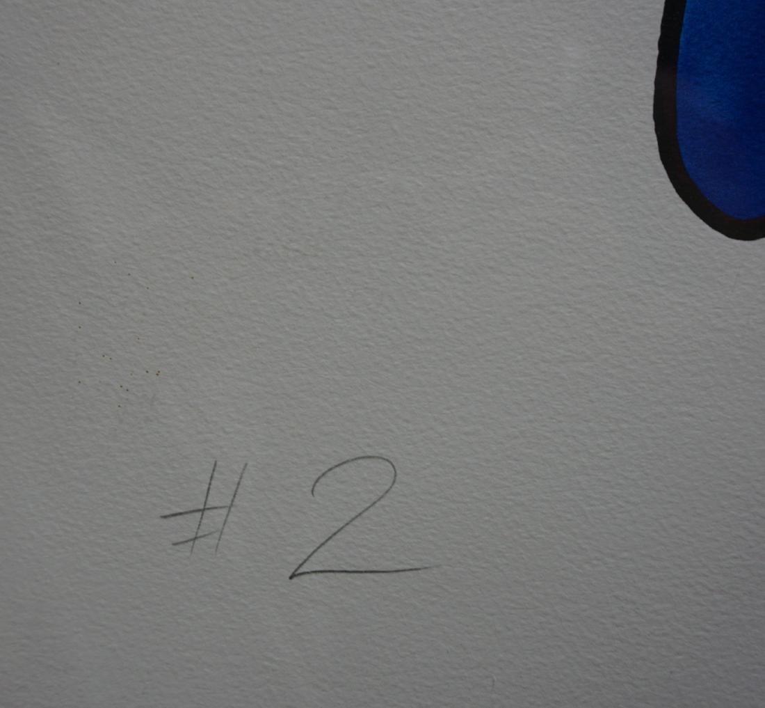 CRASH John Matos Mixed Media Painting on Paper #2 - 3