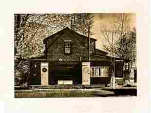 John Baeder House With Trailer